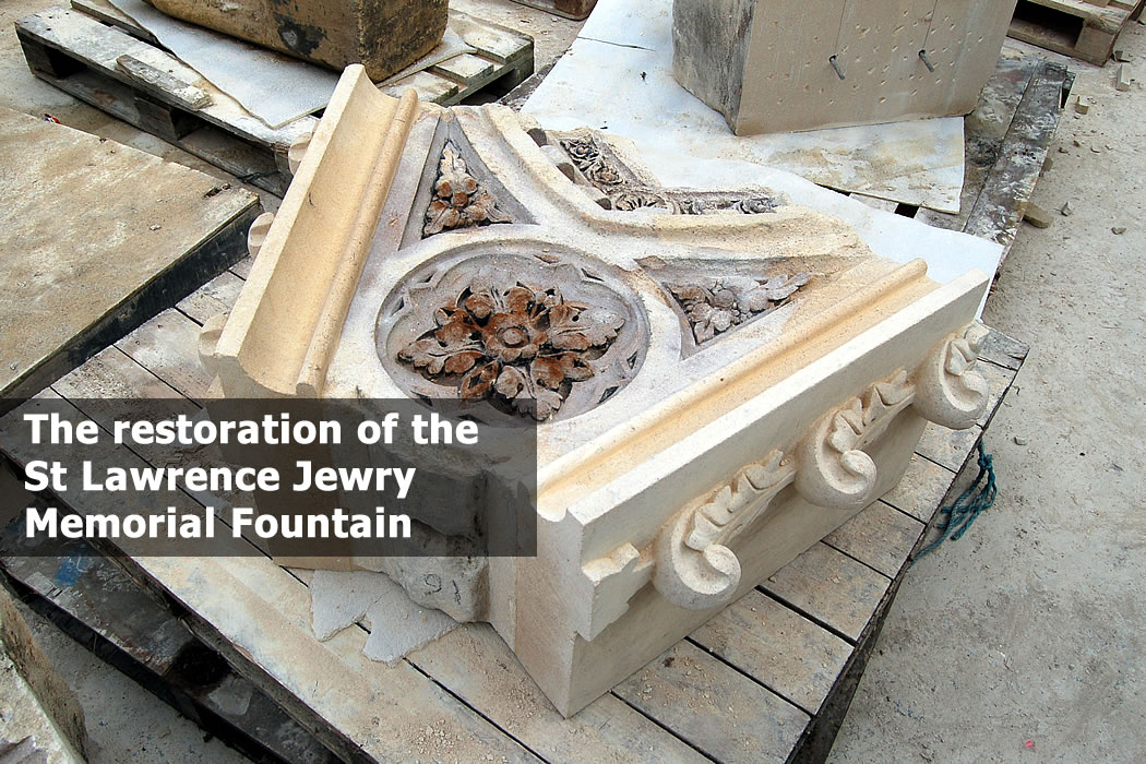 The St Lawrence Jewry Memorial Fountain in the City of London 10