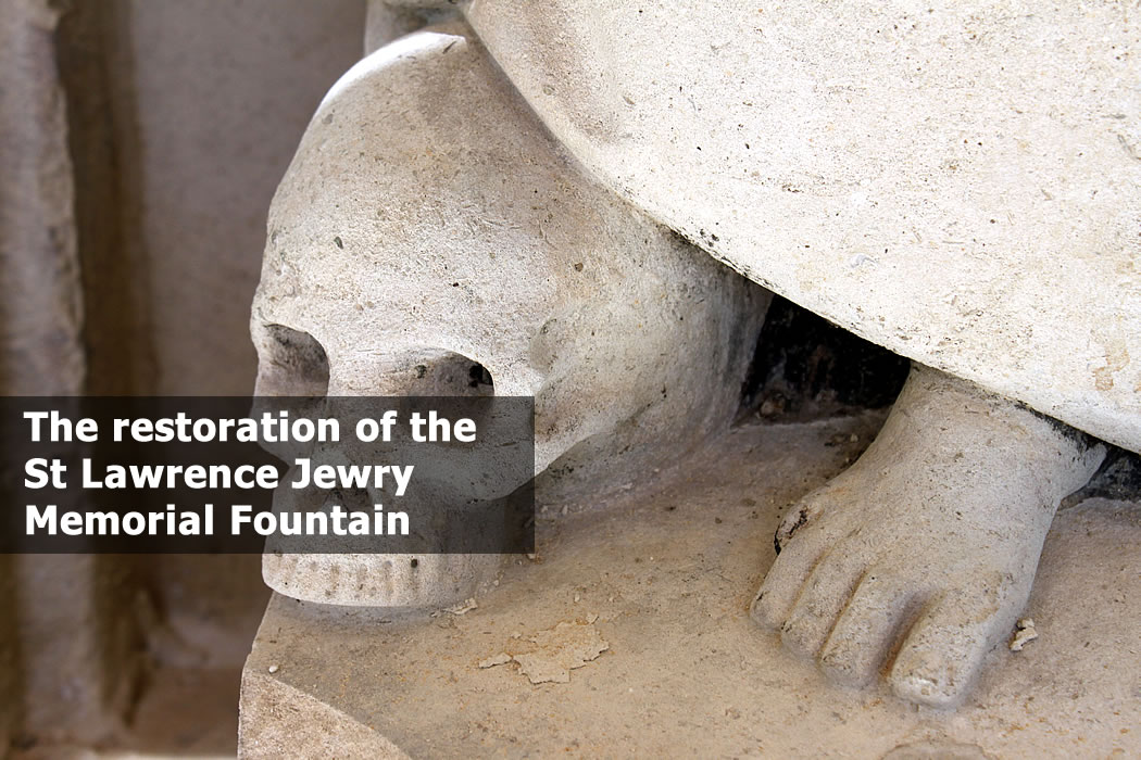 The St Lawrence Jewry Memorial Fountain in the City of London 12